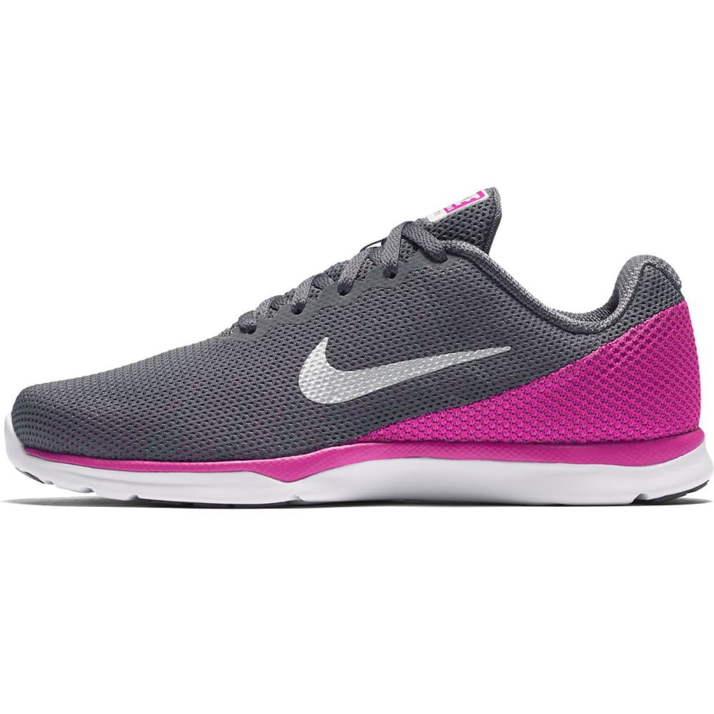 NIKE Women's In-Season TR 6 Training Shoes - DK GRY/MTLC PLATINUM