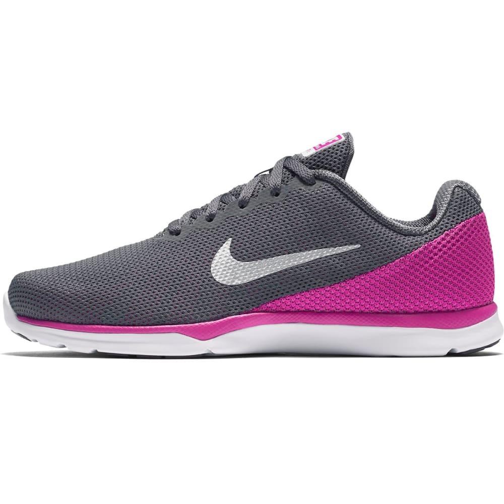 NIKE Women's In-Season TR 6 Training Shoes - DK GRY/MTLC PLATINUM