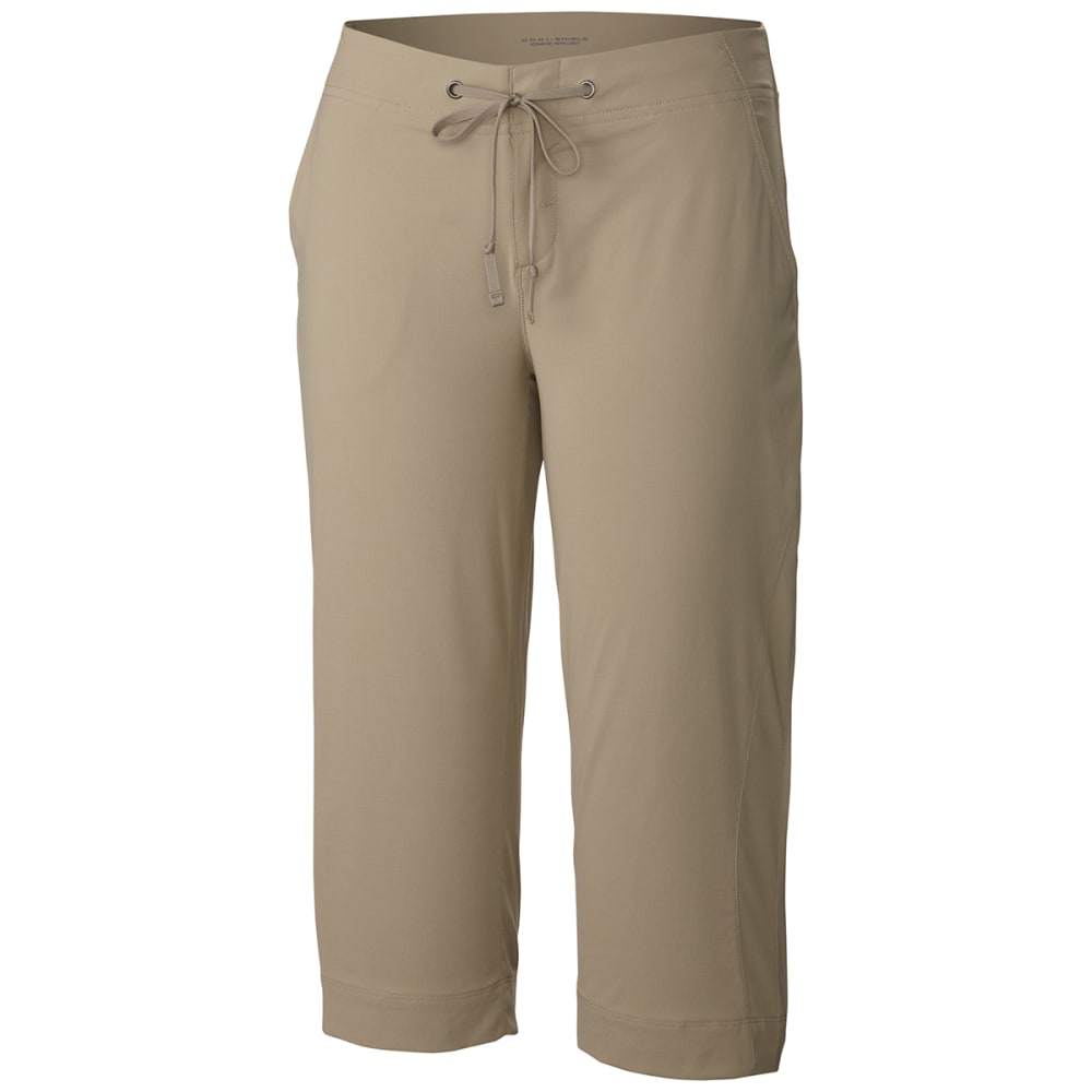 Columbia Women's Anytime Outdoor Capri Pants - Brown, 6