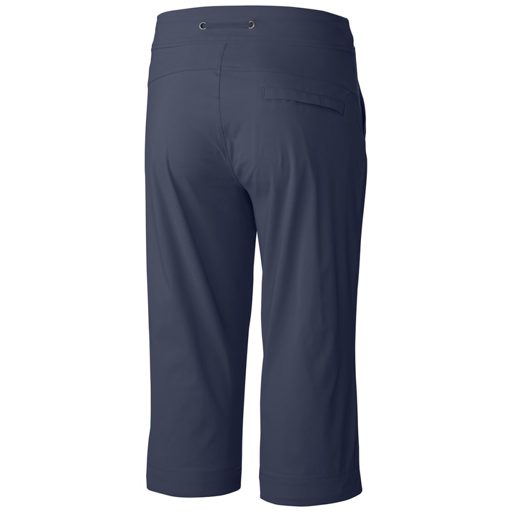 COLUMBIA Women's Anytime Outdoor Capri Pants - 591-NOCTURNAL