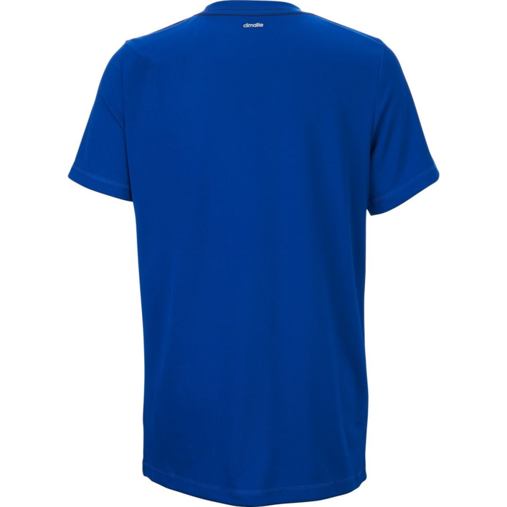 ADIDAS Boys' Clima Performance Logo Short-Sleeve Tee - COLLEGIATE RYL-AB107