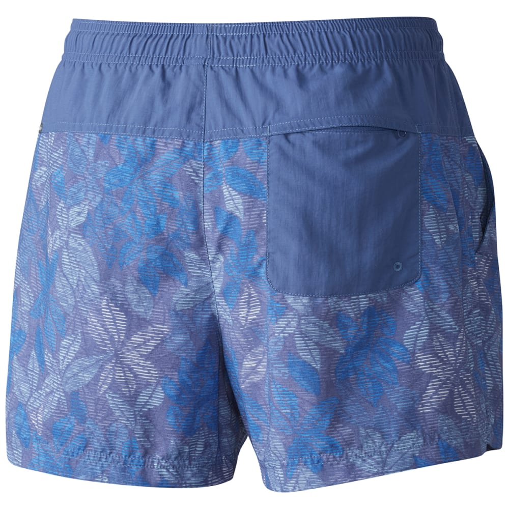 COLUMBIA Women's Sandy River Printed Shorts - 508-BLUEBELL FLORAL