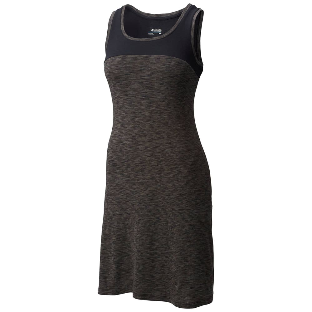 COLUMBIA Women's OuterSpaced II Dress - 012-BLACK SPACEDYE