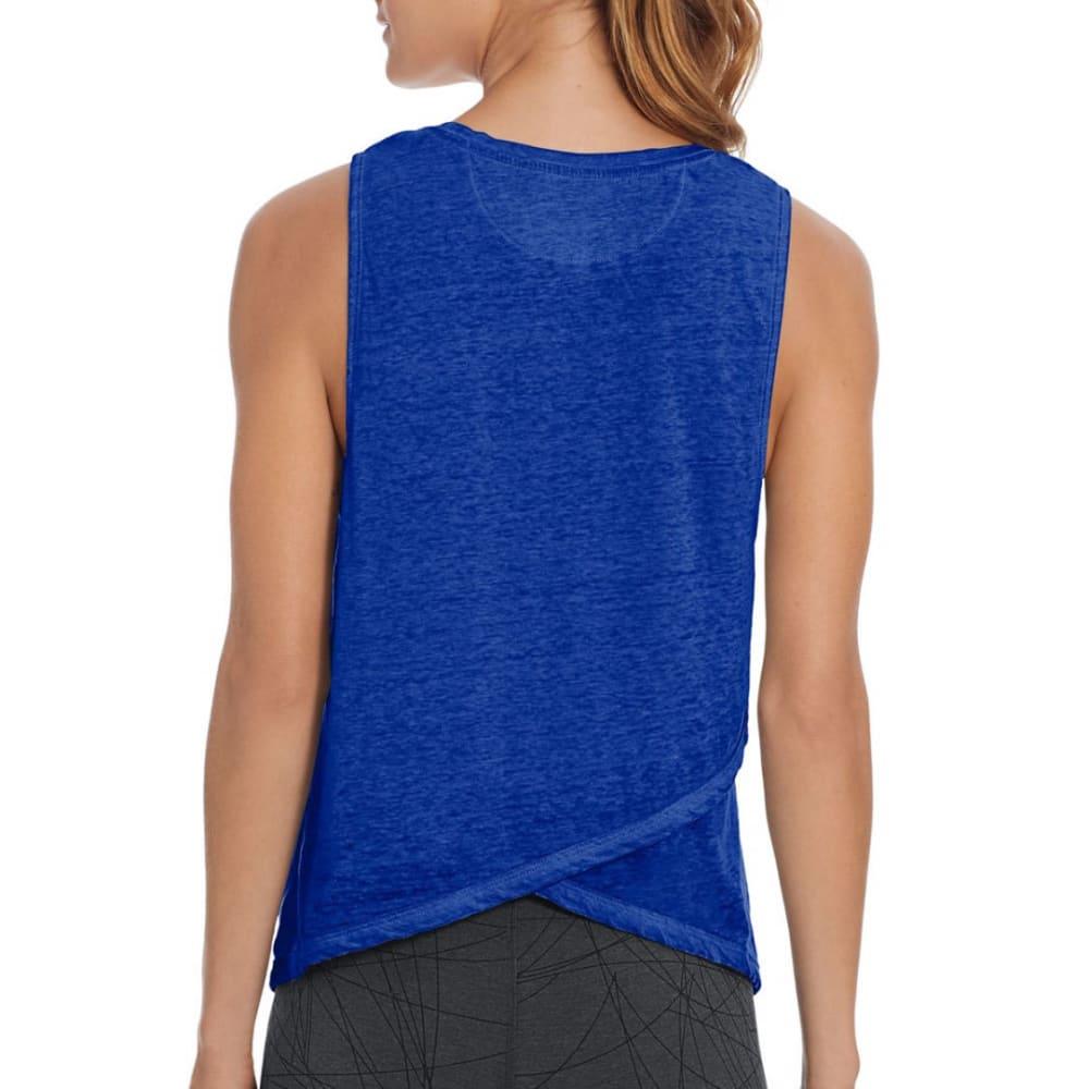 CHAMPION Women's Authentic Wash Muscle Tank Top - FLIGHT BLUE-56S