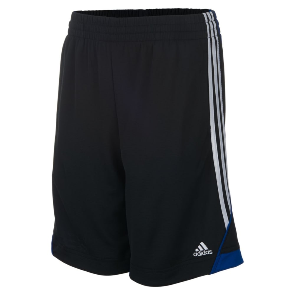 ADIDAS Boys' Dynamic Speed Shorts - BLK/COLLGT ROYAL-K10