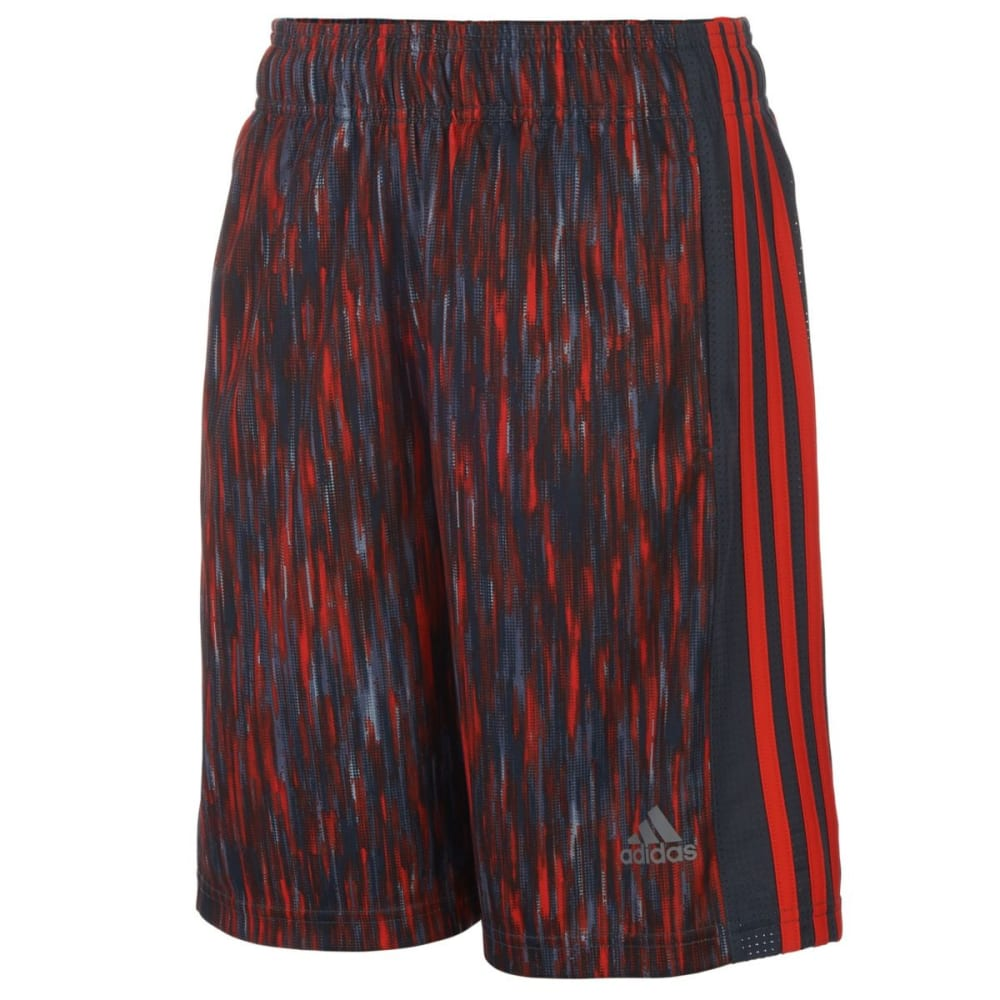 ADIDAS Boys' Influencer Shorts - MERCURY GREY-H04