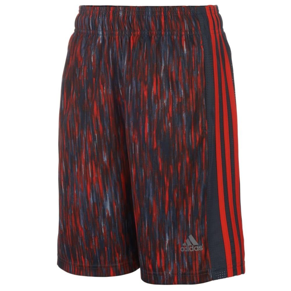 ADIDAS Boys' Influencer Shorts - MERCURY GREY-H04