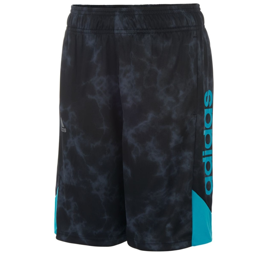 ADIDAS Boys' Smoke Screen Shorts - BLACK-K01