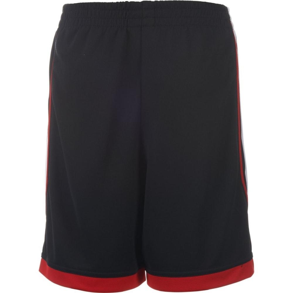 ADIDAS Boys' Dynamic Speed Shorts - BLACK/SCARLET-K11