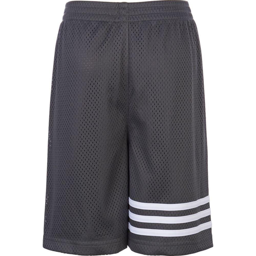 ADIDAS Boys' Defender Mesh Shorts - GREY FIVE-AH07