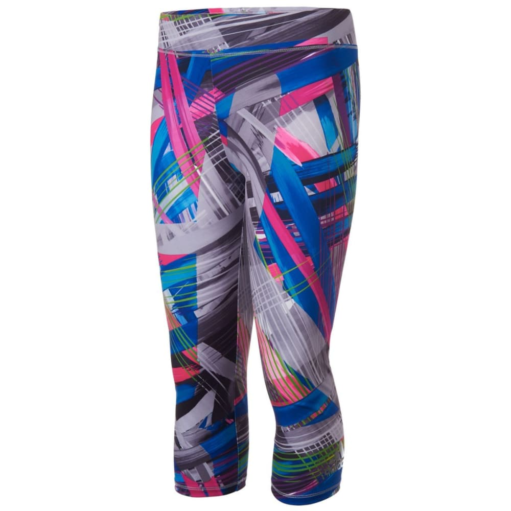 ADIDAS Girls' Printed Capri Tights - PAINTENRGY PRNT-P219