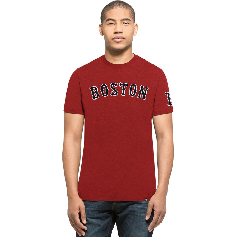 BOSTON RED SOX Men's '47 Team Club Short-Sleeve Tee - RED