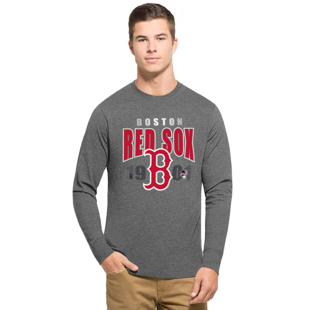 BOSTON RED SOX Men's '47 Club Long-Sleeve Tee - GREY