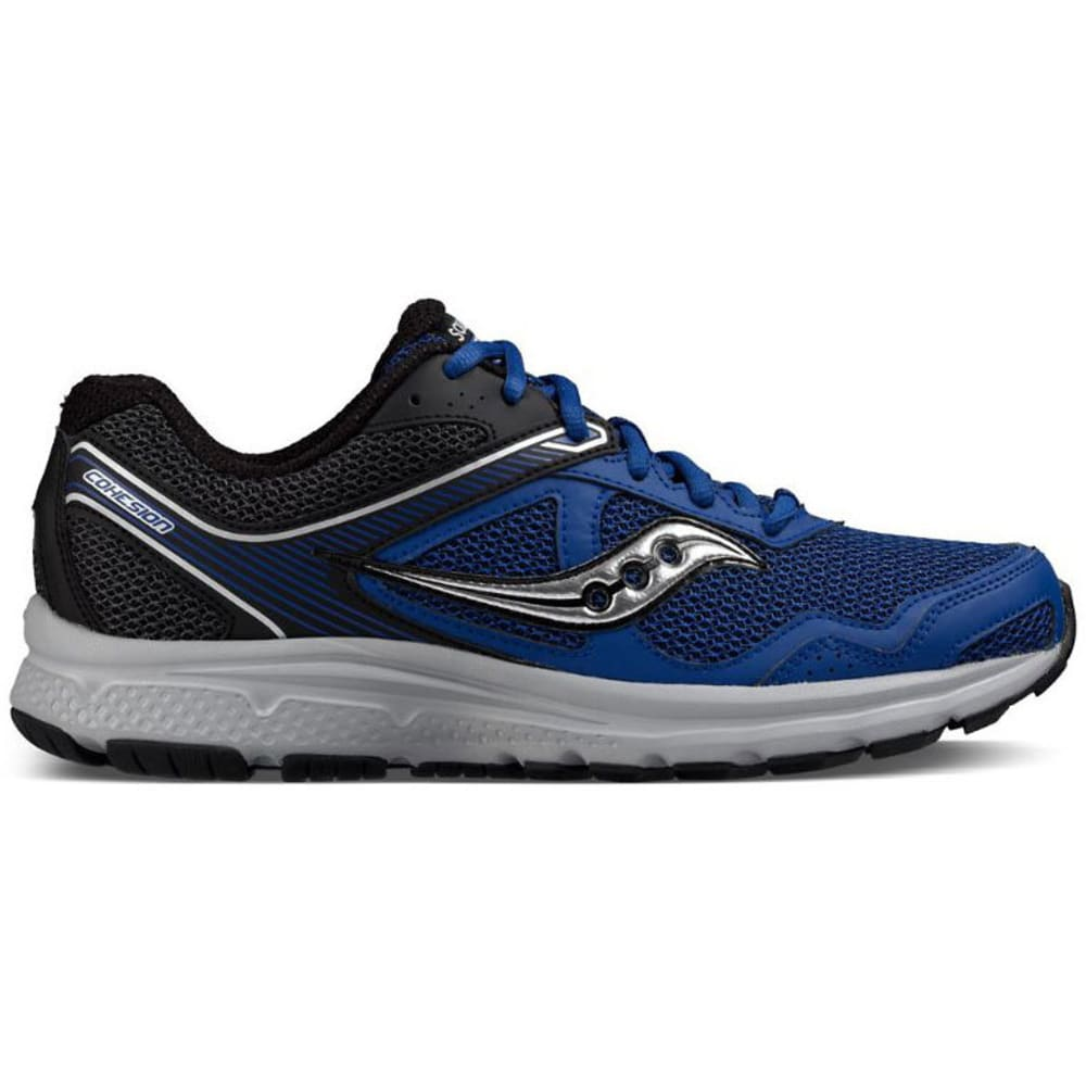 SAUCONY Men's Cohesion 10, Royal/Black 7.5