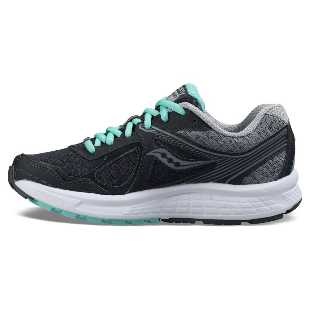 SAUCONY Women's Cohesion 10 Running Shoes - GREY/GREY/MINT