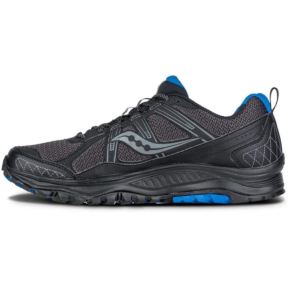 SAUCONY Men's Excursion TR10 Trail Running Shoes, Wide - BLACK