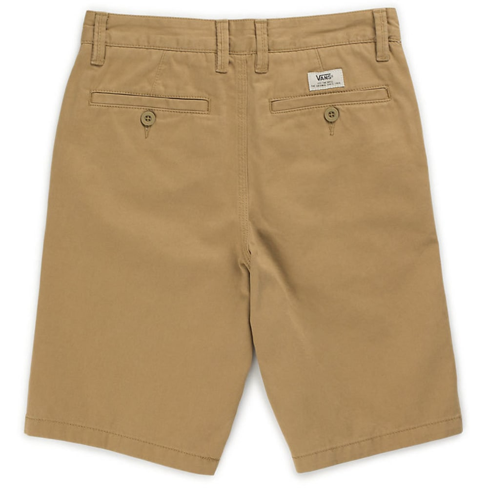 VANS Boys' Authentic Shorts - KHAKI