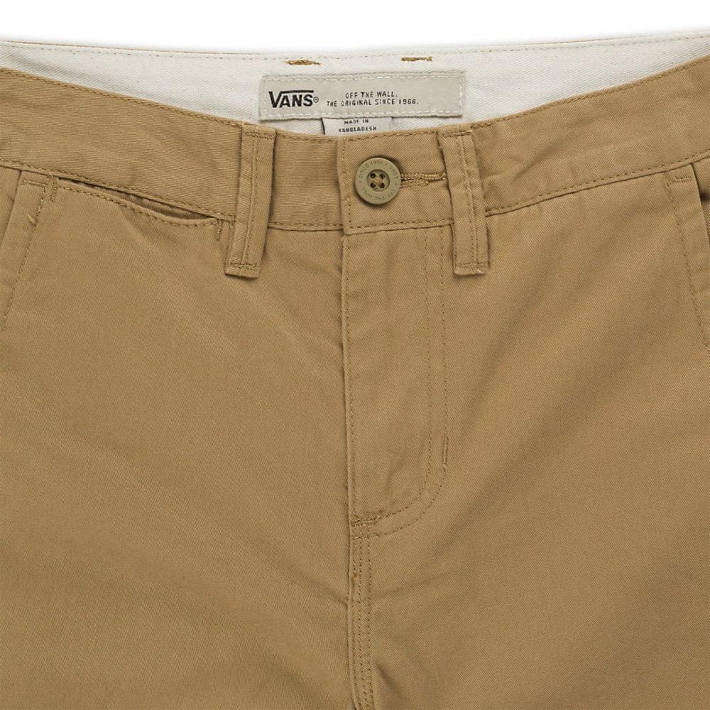 VANS Boys' Authentic Shorts - KHAKI