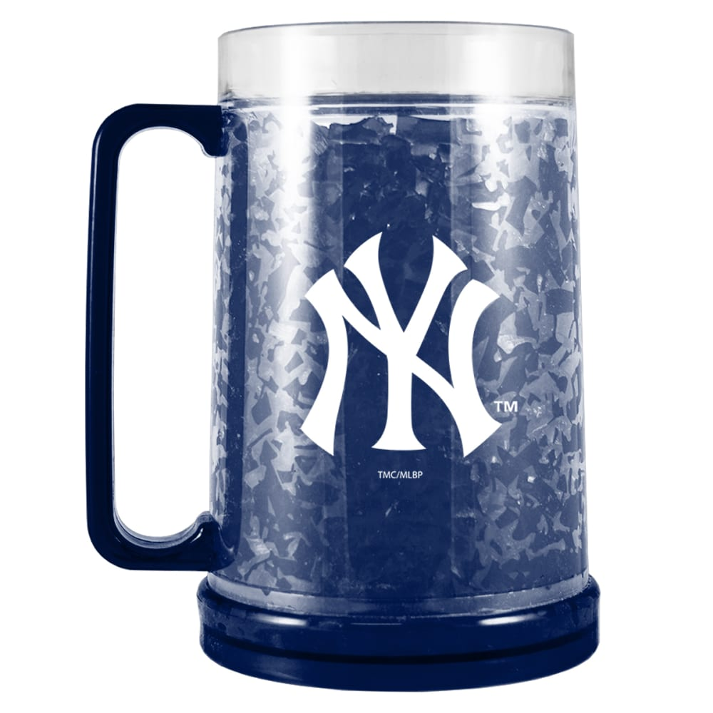 NEW YORK YANKEES Colored Freezer Mug - NAVY