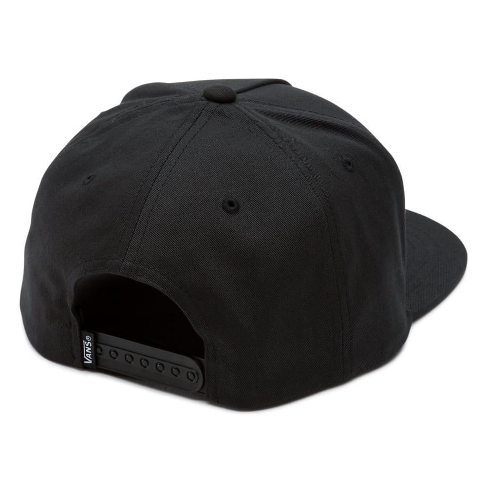 VANS Boys' Full Patch Snapback Cap - BLACK