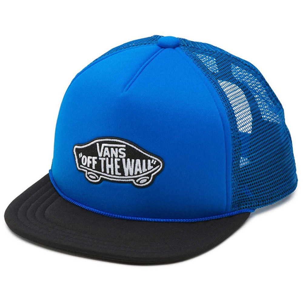 VANS Boys' Classic Patch Trucker Hat - IMPERIAL BLUE