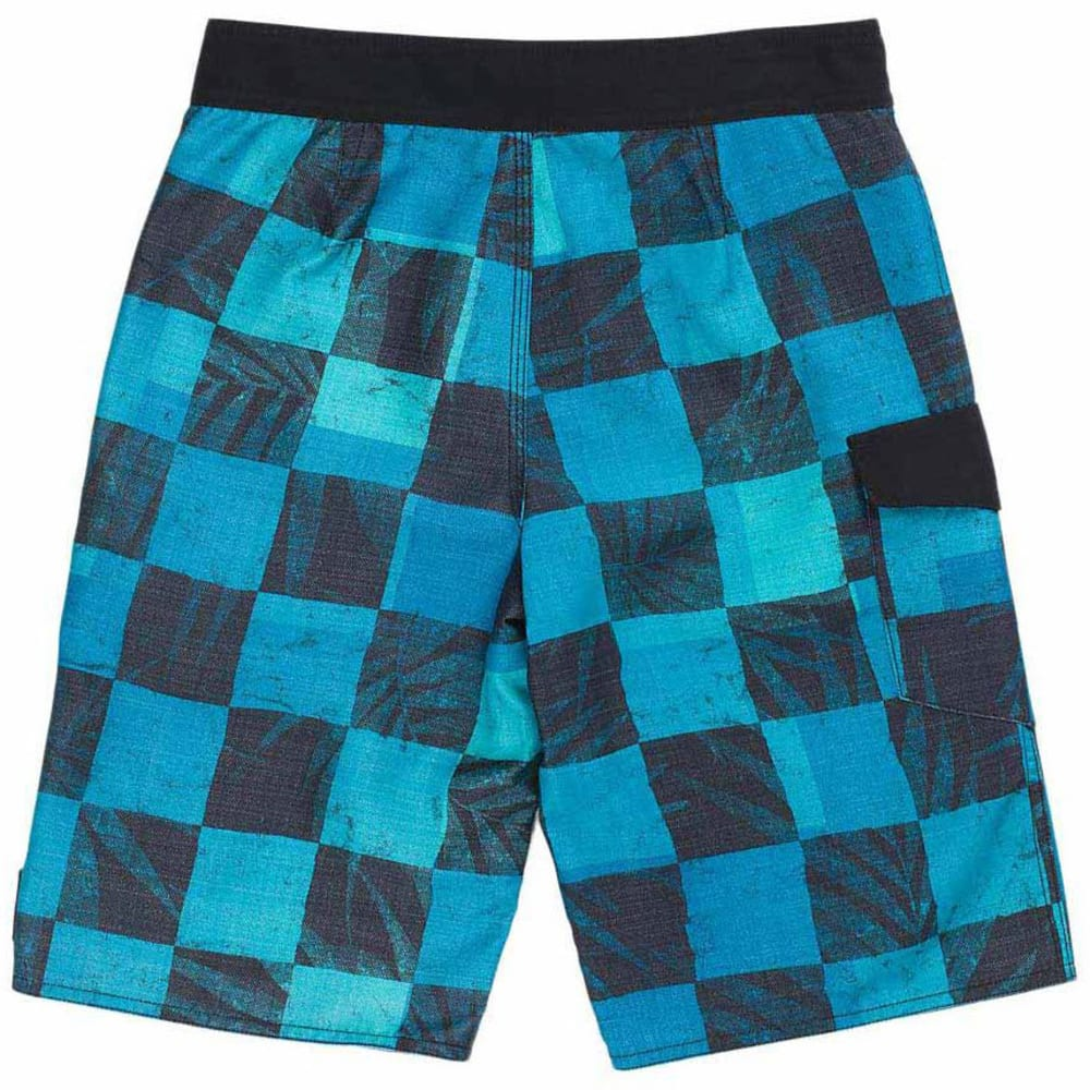 VANS Boys' Check Yourself Boardshorts - IMPERIAL BLUE