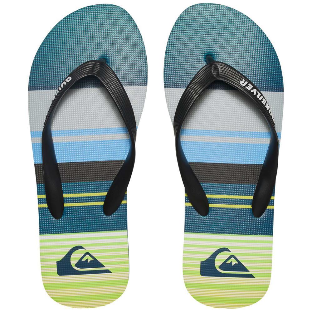 QUIKSILVER Boys' Molokai Everyday Flip Flops - ASSORTED