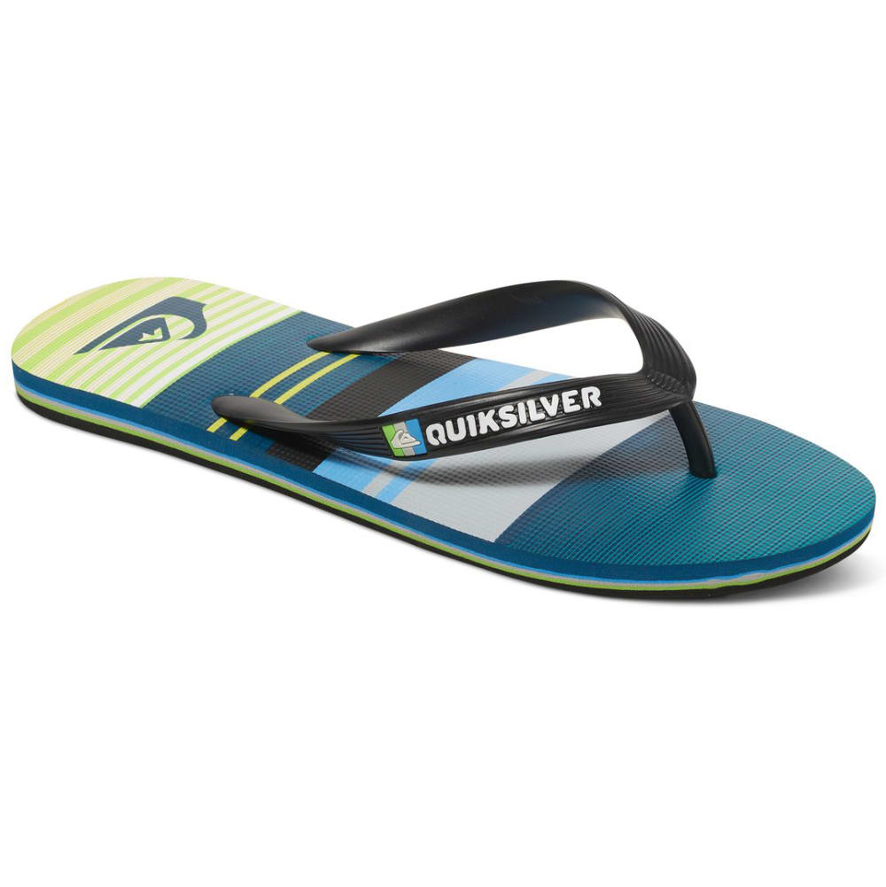 QUIKSILVER Boys' Molokai Everyday Flip Flops - ASSORTED
