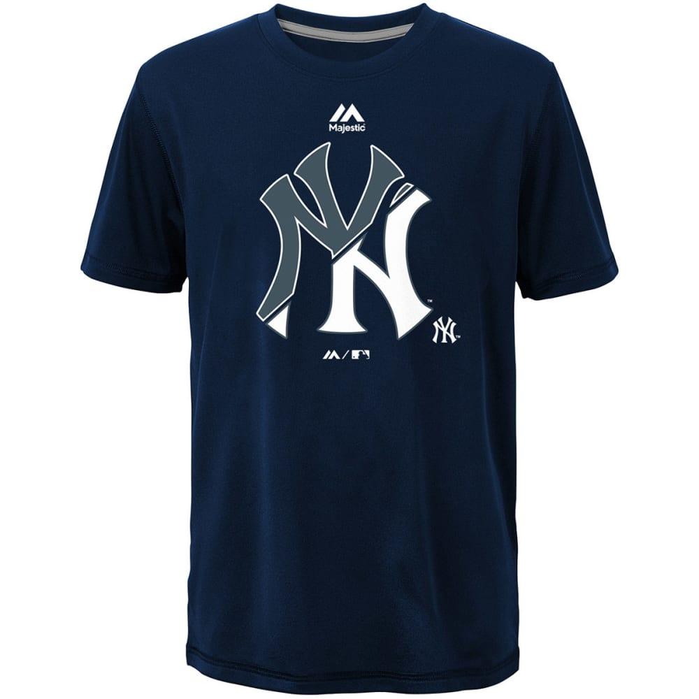 NEW YORK YANKEES Boys' Split Series Ultra Short-Sleeve Tee - NAVY BLUE