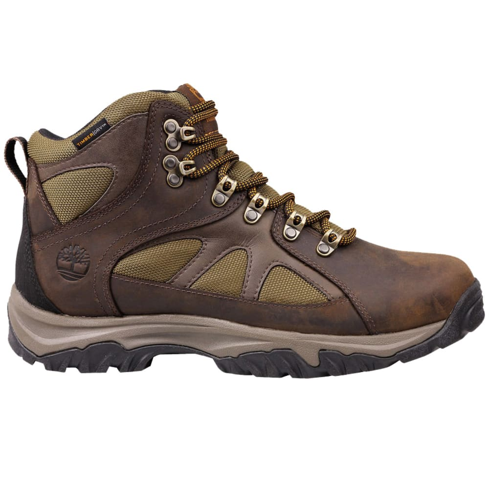 TIMBERLAND Men's Bridgeton Mid Waterproof Hiking Boots, Wide - DARK BROWN