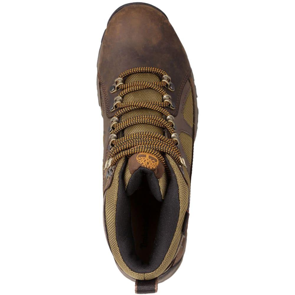 TIMBERLAND Men's Bridgeton Mid Waterproof Hiking Boots, Wide - DARK BROWN