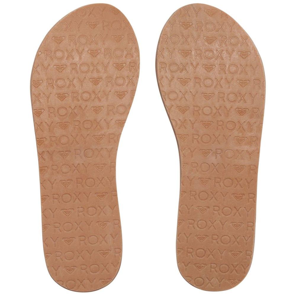 ROXY Women's Jyll Flip Flops, Tan - TAN
