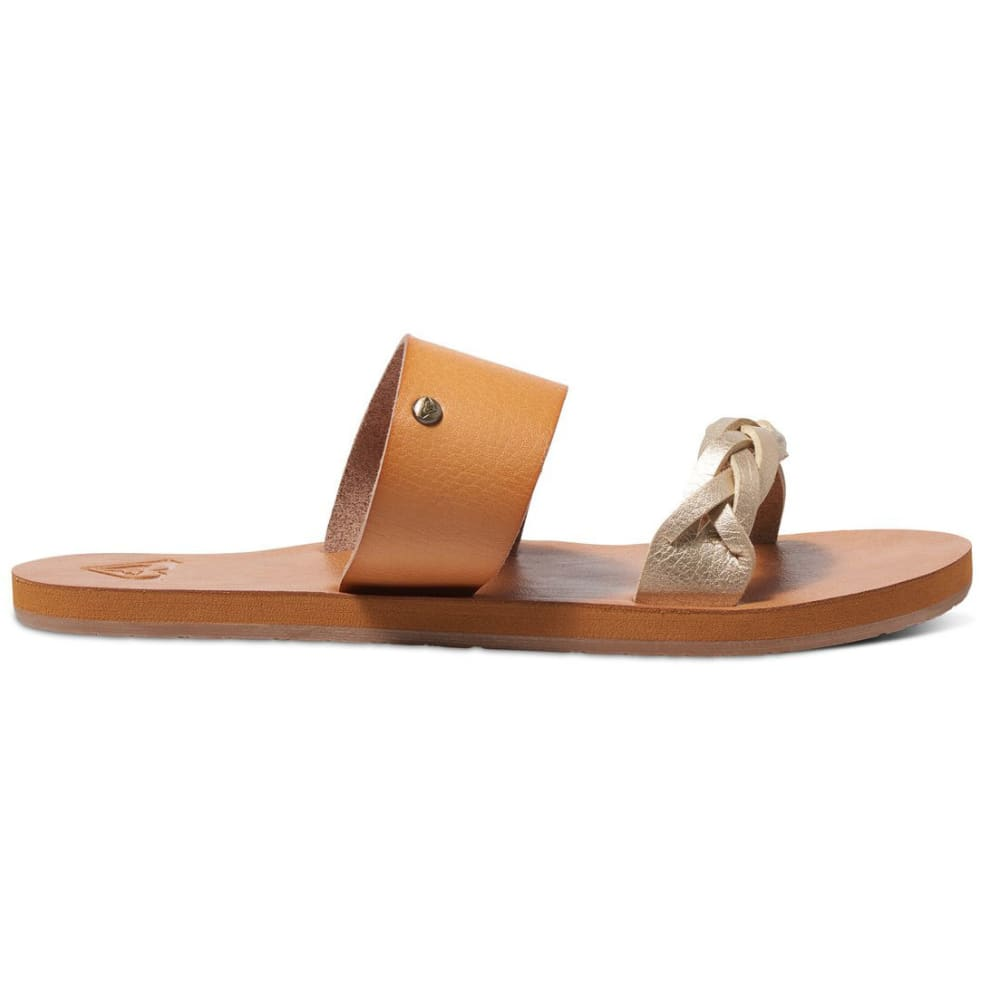ROXY Women's Tess Slide Sandals, Tan - TAN