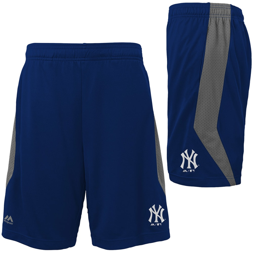 NEW YORK YANKEES Boys' Last Rally Shorts - NAVY