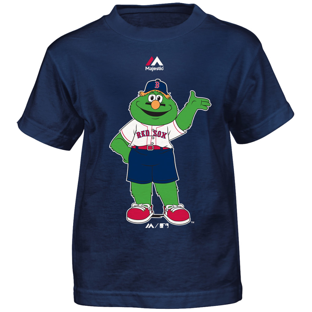 BOSTON RED SOX Boys' Wally Short-Sleeve Tee - NAVY