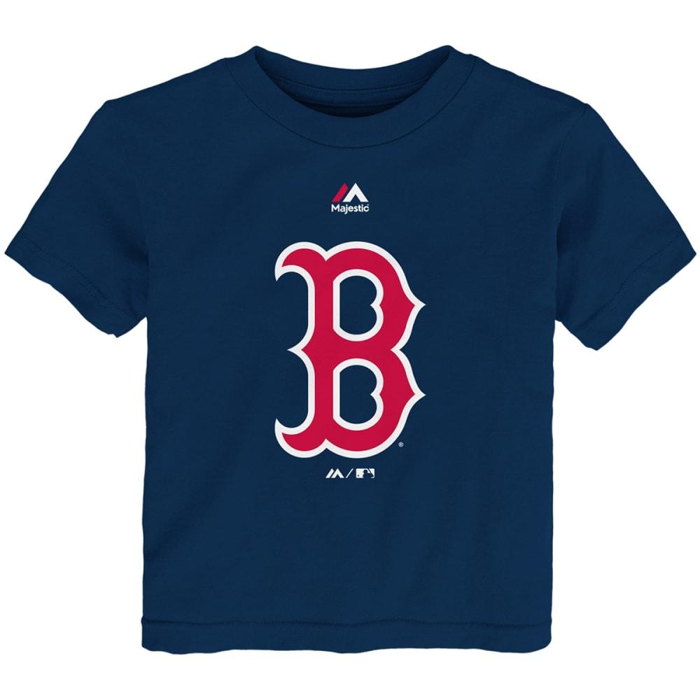 BOSTON RED SOX Toddler Boys' Primary Logo Short-Sleeve Tee - NAVY