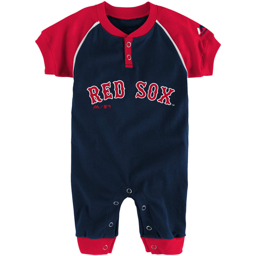 BOSTON RED SOX Infant Boys' Game Time Bodysuit - NAVY
