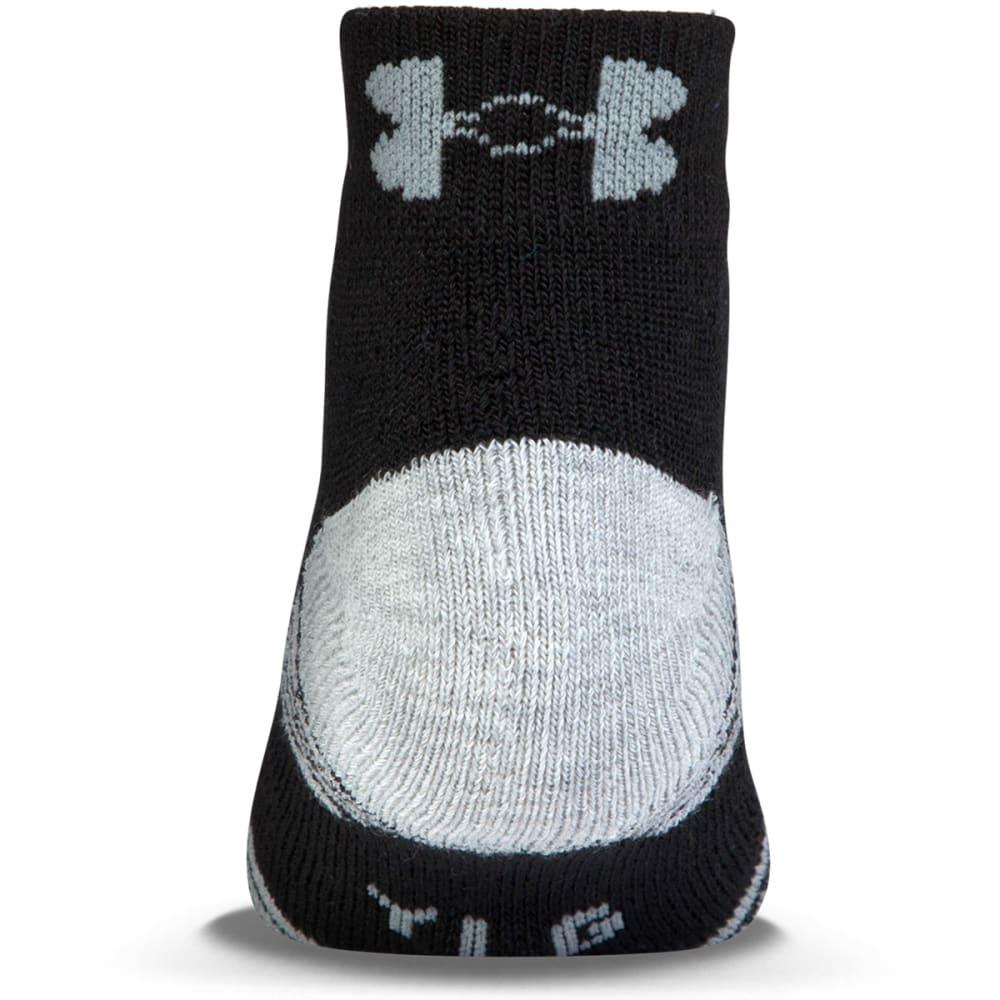 UNDER ARMOUR Men's Heatgear ® Low-Cut Socks, 3 Pack - BLACK