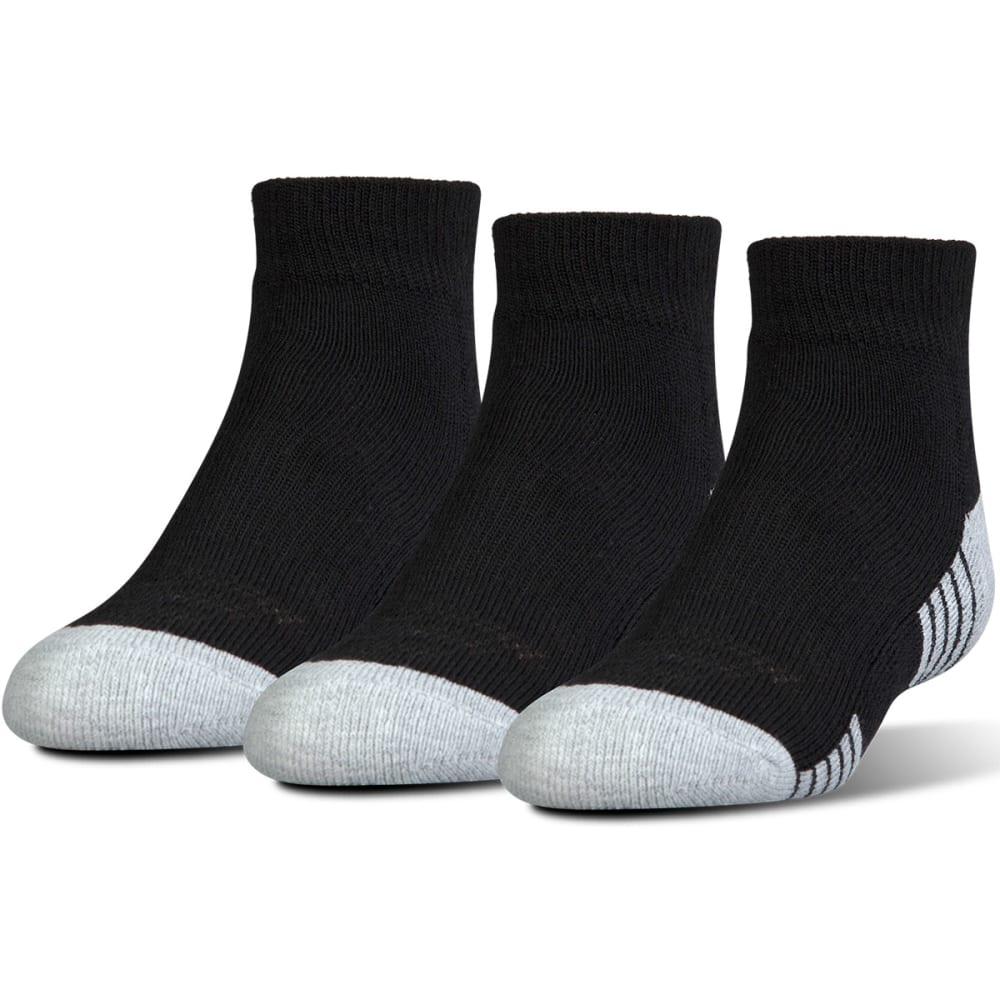 Under Armour Men's Heatgear  Low-Cut Socks, 3 Pack - Black, L