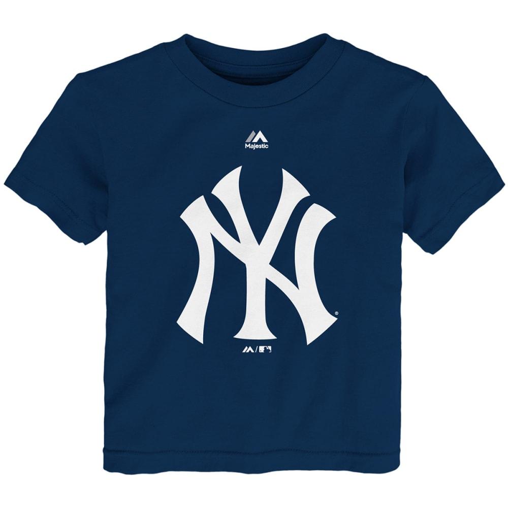 NEW YORK YANKEES Toddler Boys' Primary Logo Short-Sleeve Tee - NAVY