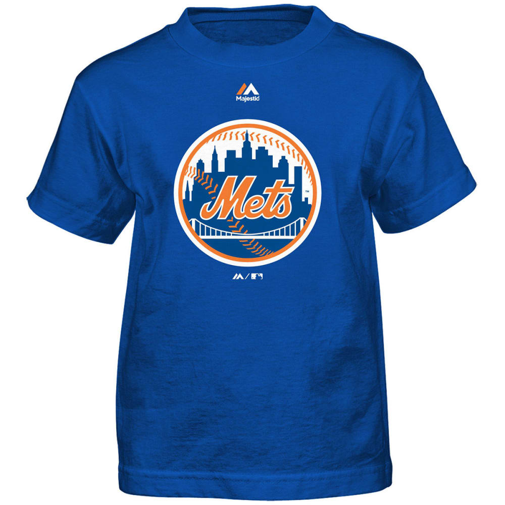 NEW YORK METS Toddler Boys' Primary Logo Short-Sleeve Tee - ROYAL BLUE