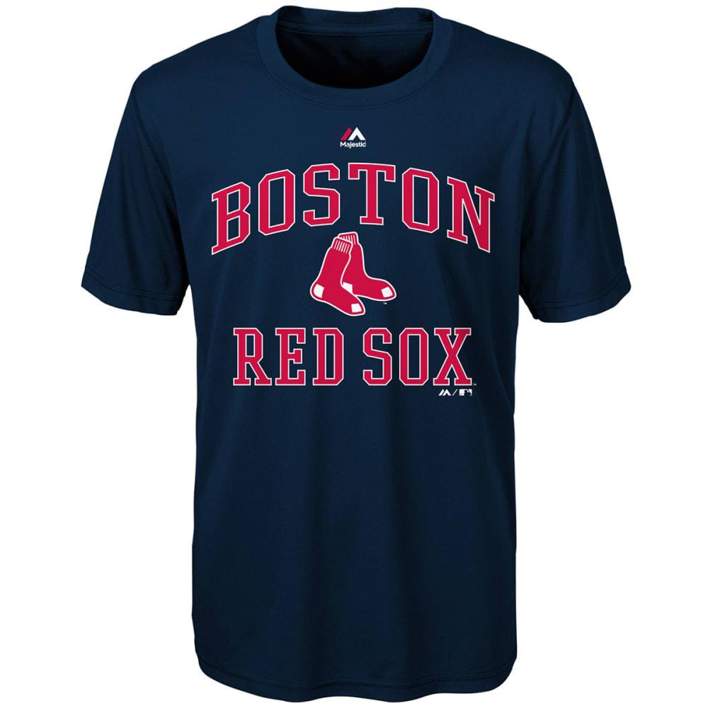 BOSTON RED SOX Boys' City Wide Short-Sleeve Tee - NAVY
