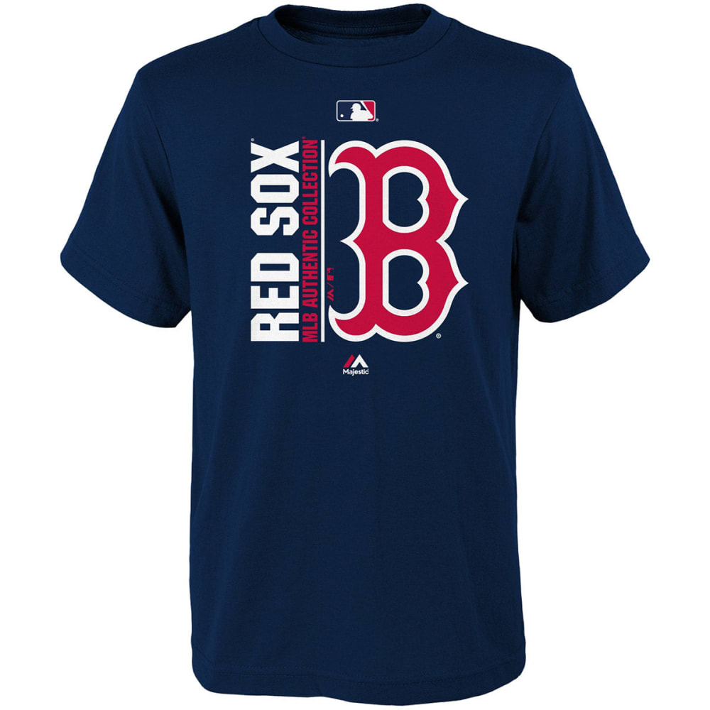 BOSTON RED SOX Boys' AC Team Icon Short-Sleeve Tee - NAVY