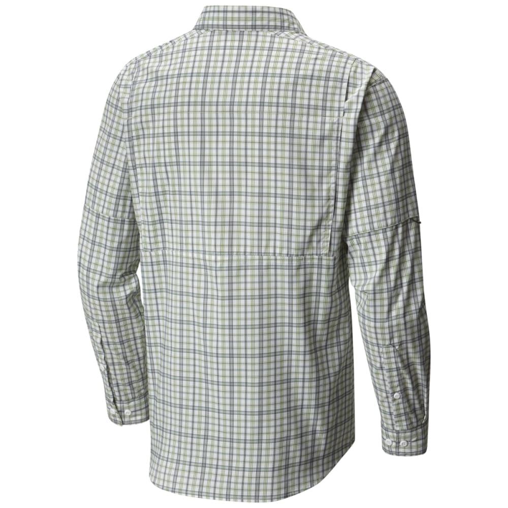COLUMBIA Men's Silver Ridge Lite Plaid Long-Sleeve Shirt - 376-T SPRING PLAID