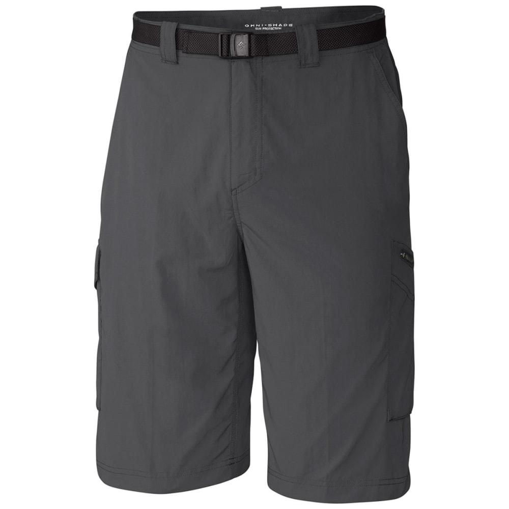 Columbia Men's Silver Ridge Cargo Shorts, 10 In. - Black, 30