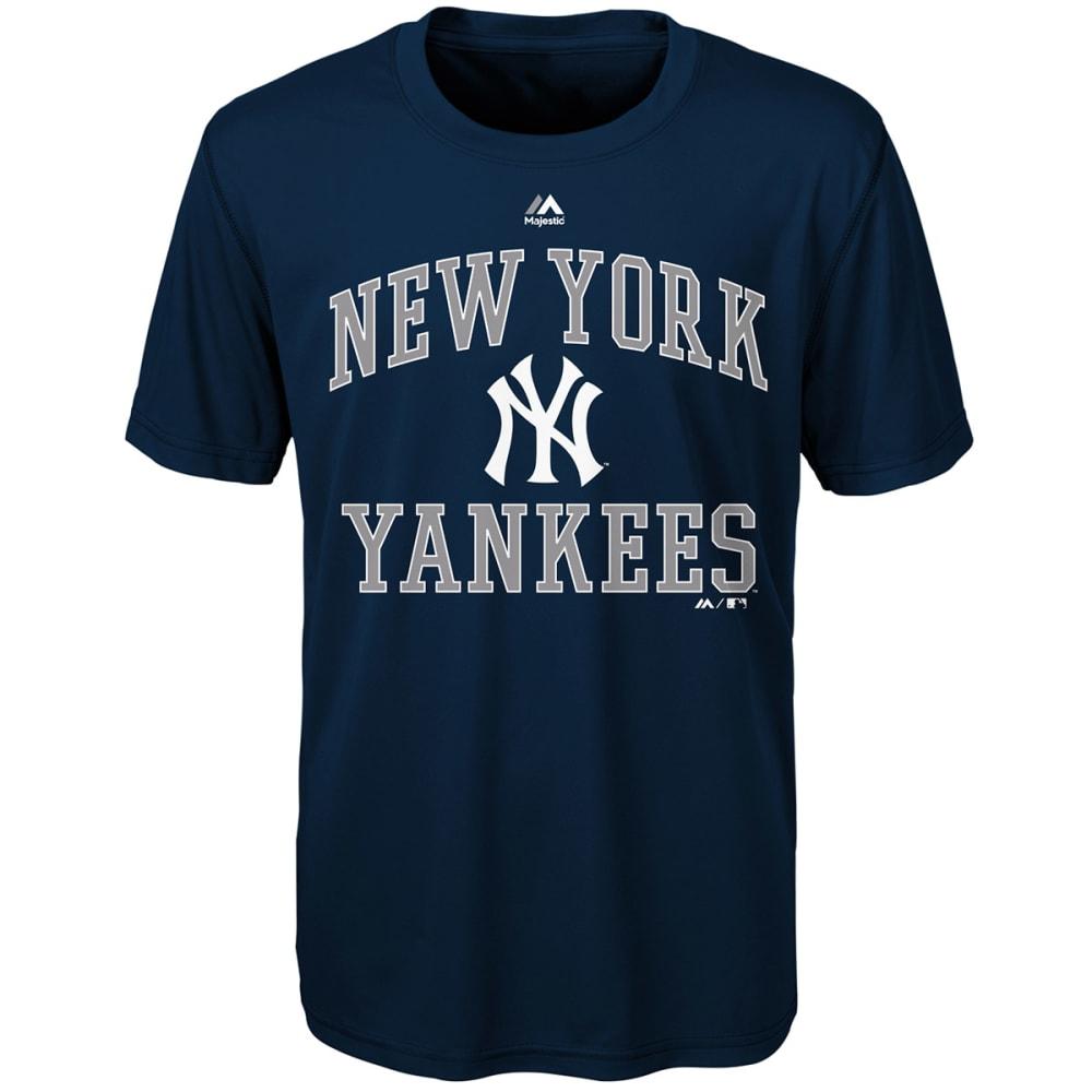 NEW YORK YANKEES Boys' City Wide Short-Sleeve Tee - NAVY