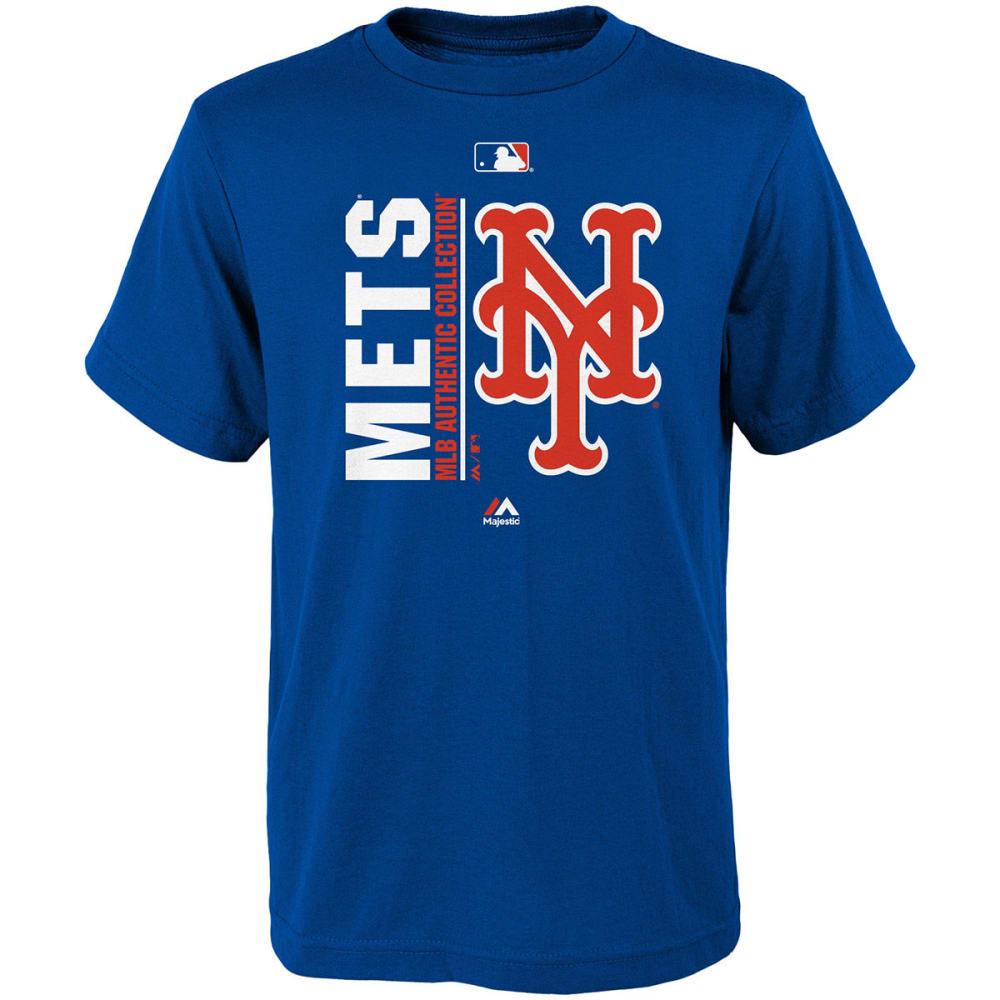 NEW YORK METS Boys' AC Team Icon Short-Sleeve Tee S