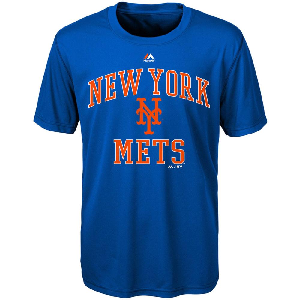 NEW YORK METS Boys' City Wide Short-Sleeve Tee - ROYAL BLUE