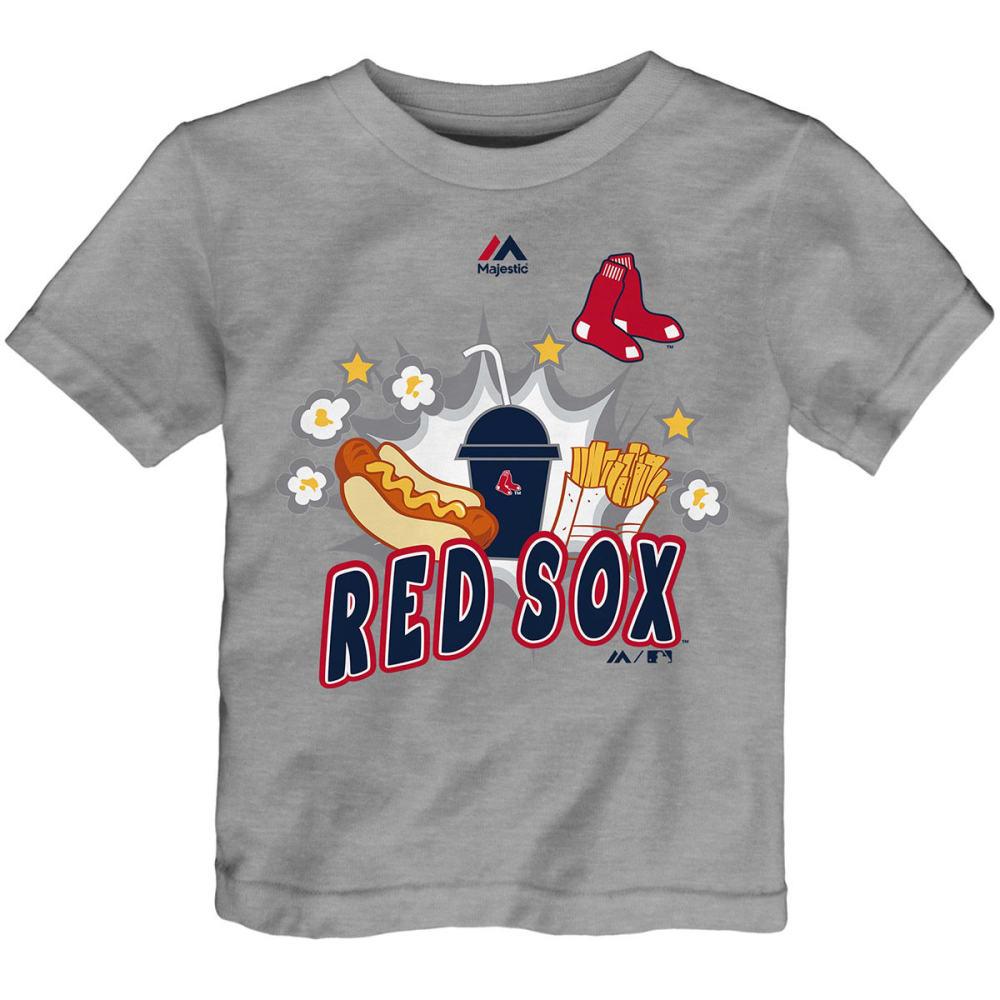 BOSTON RED SOX Toddler Boys' Snack Attack Short-Sleeve Tee - GREY