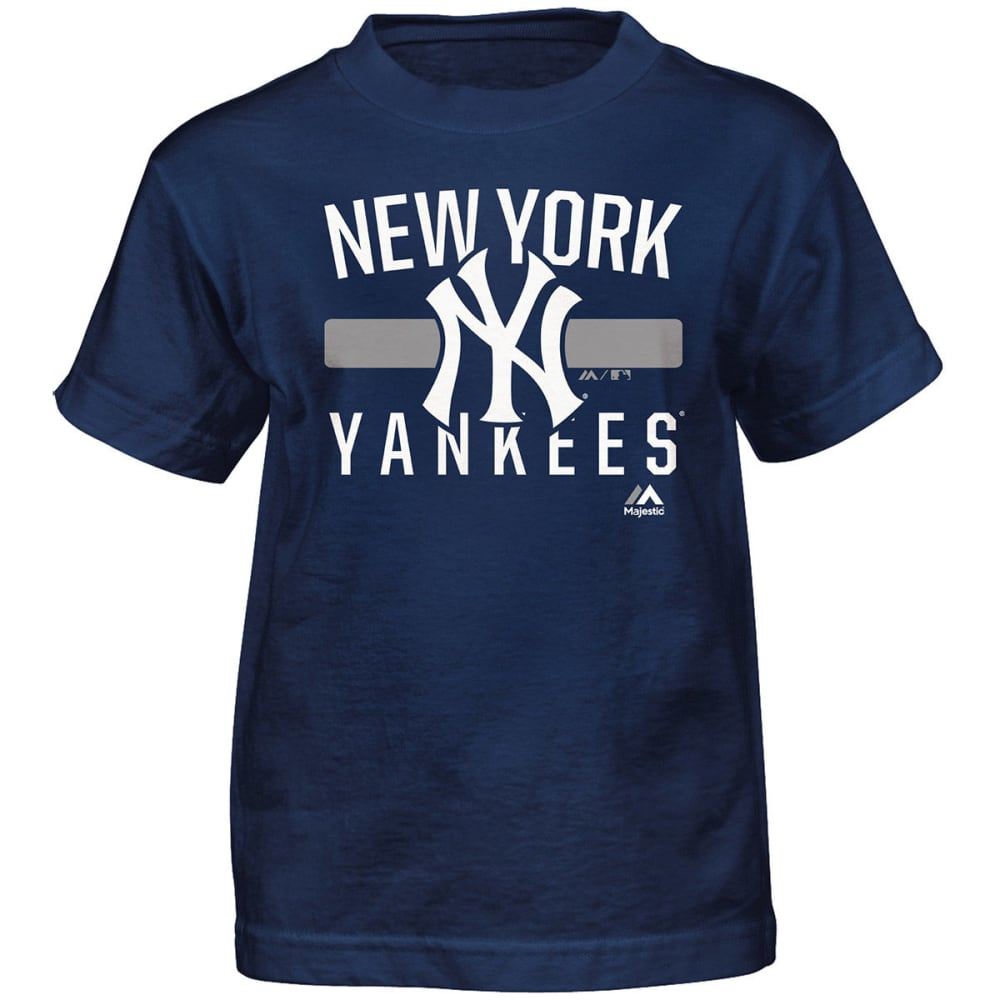 NEW YORK YANKEES Boys' One Game Short-Sleeve Tee - NAVY